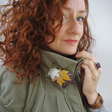 Maple Leaf brooch - MissJ Designs