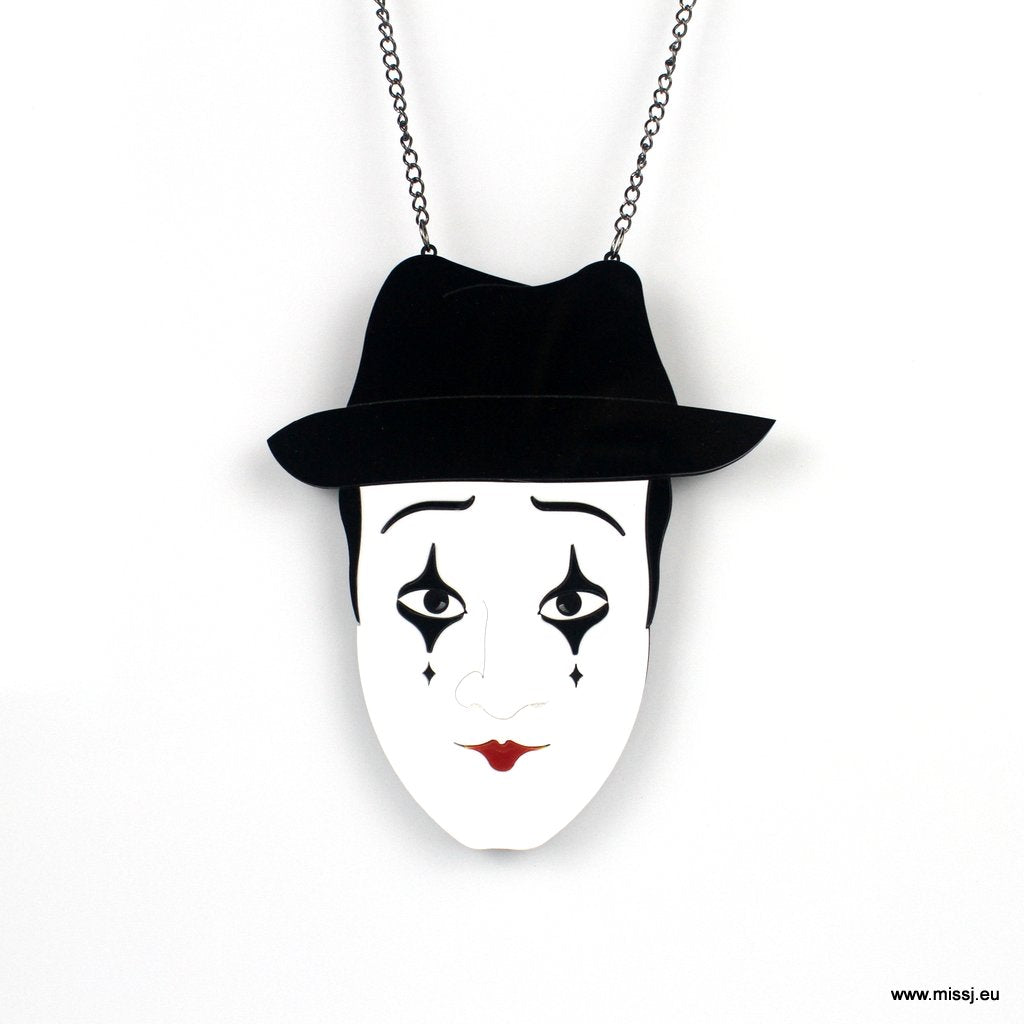 Mime Necklace