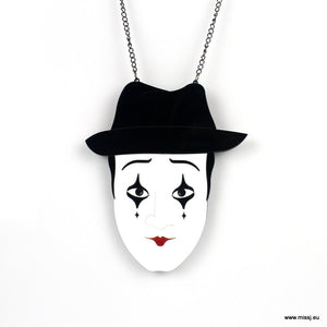 Mime Necklace - MissJ Designs