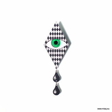 Pierrot Tears Brooch