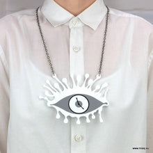 Dali Eye Clock Necklace