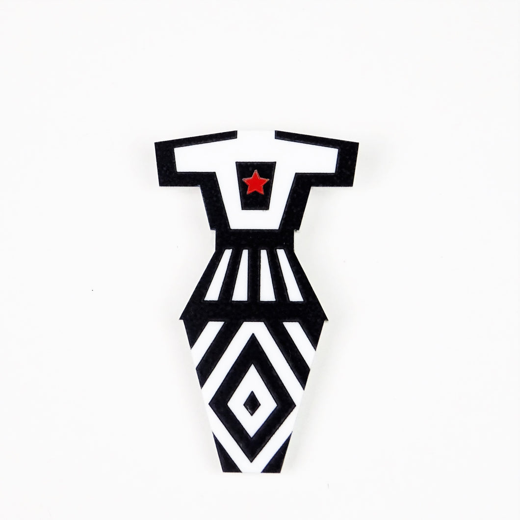 Oksana Brooch Mini - MissJ Designs