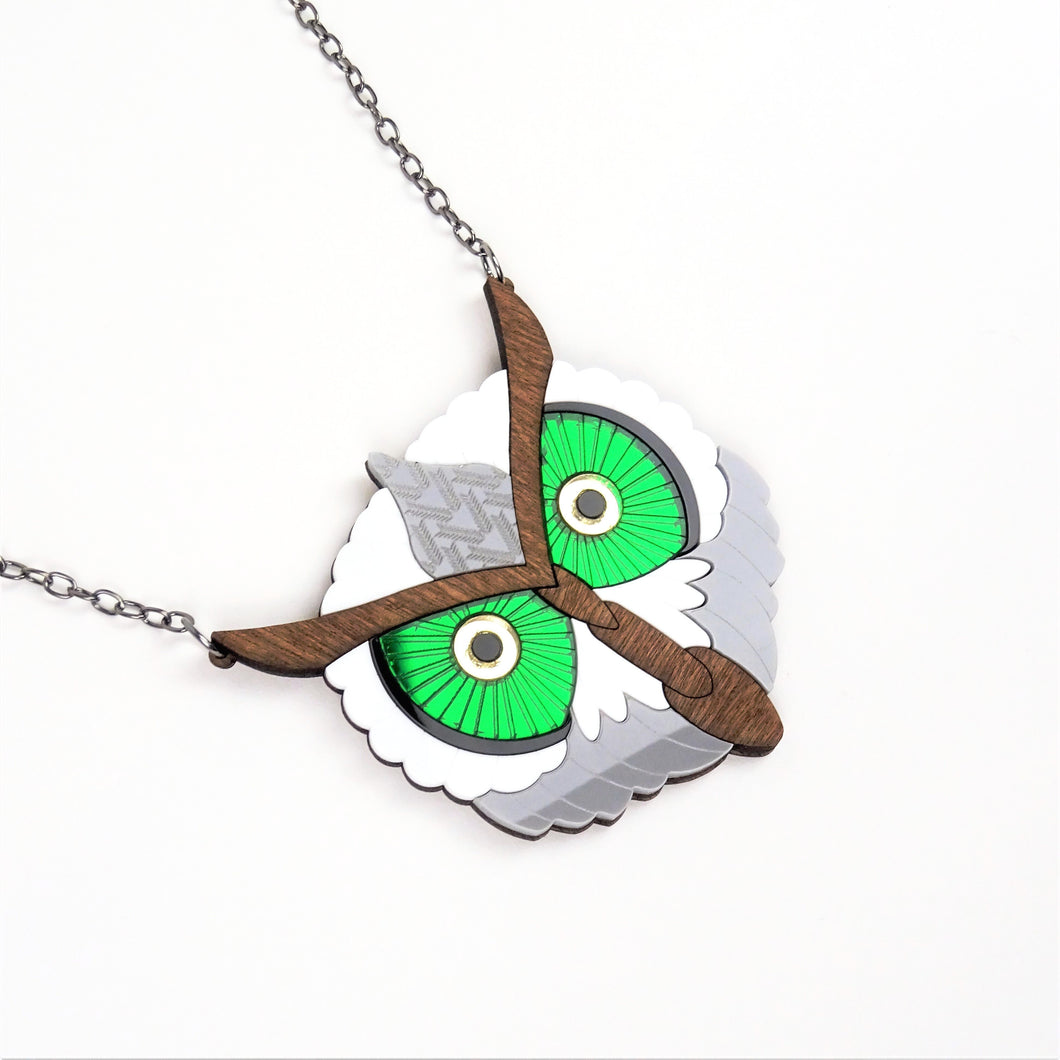 Owl Necklace Mini - MissJ Designs