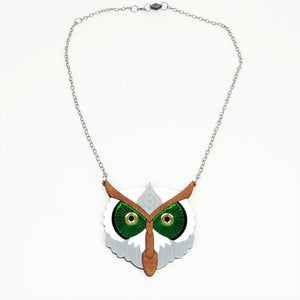 Owl Necklace Mini
