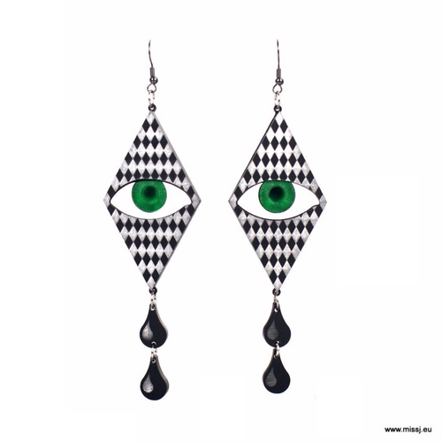 Pierrot Tears Earrings