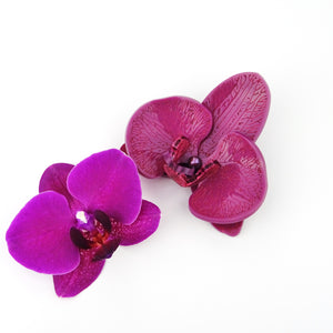 Plum Passion Limited Edition Orchid Brooch LIMITED EDITION - MissJ Designs