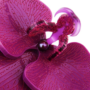 Plum Passion Limited Edition Orchid Brooch