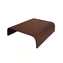 Sofa Arm Tray in Dark Brown Oak - MissJ Designs