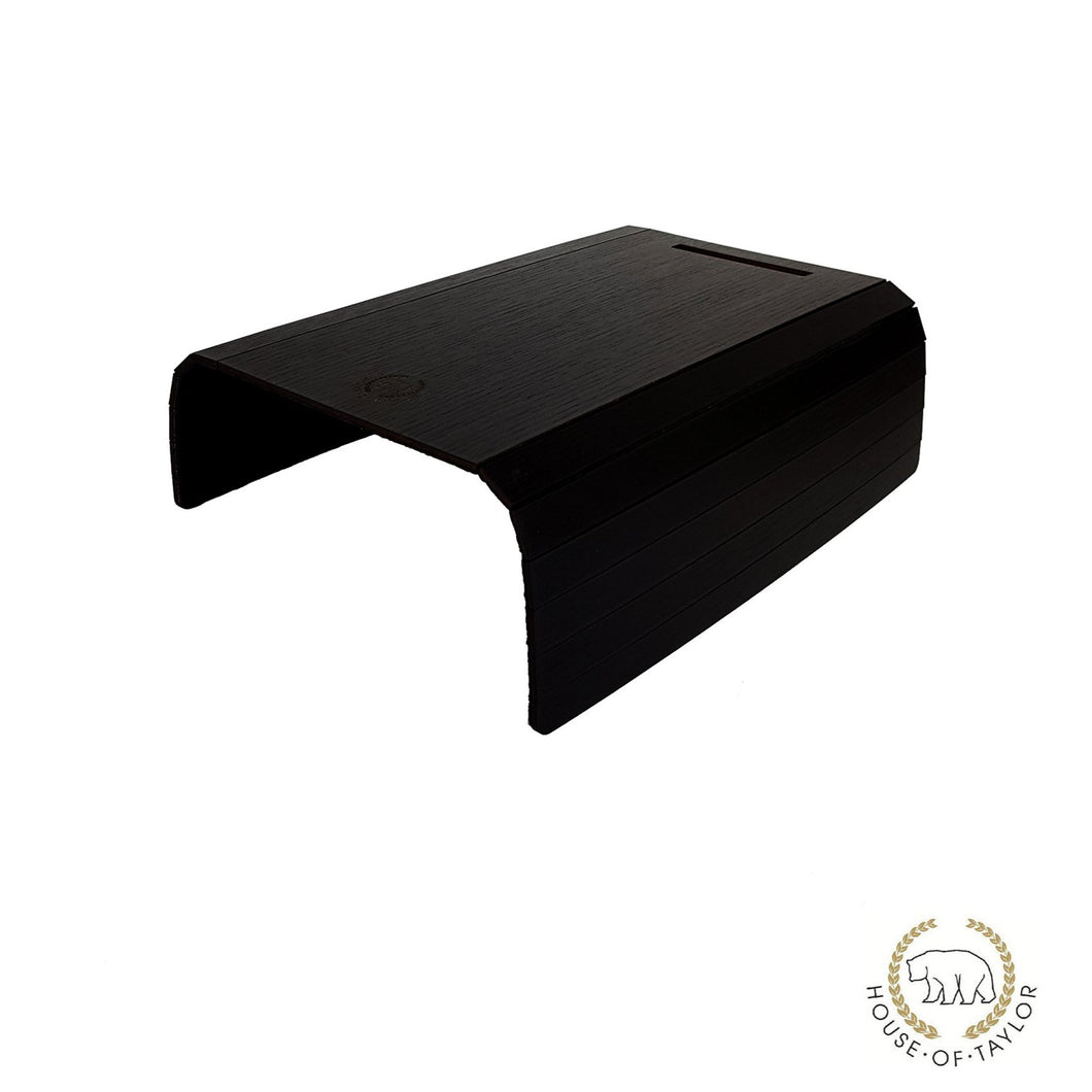 Sofa Arm Tray in Black Oak Wood - MissJ Designs