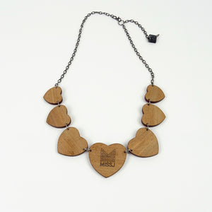 Seven Hearts Diamond Necklace