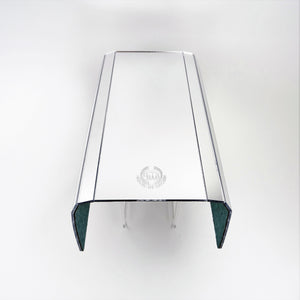 Sofa Arm Tray Silver Mirror Acrylic