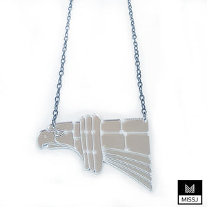 Chrysler Building Hawk Statement Necklace - MissJ Designs