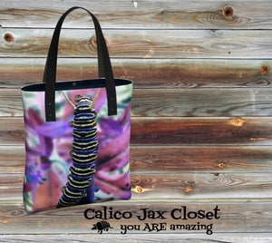 Caterpillar Drop Tote Bag