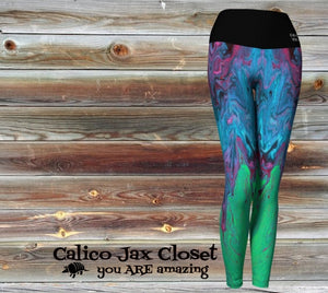 Ever Changing Color Yoga Leggings