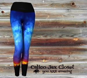 Beautiful Storm Yoga Leggings