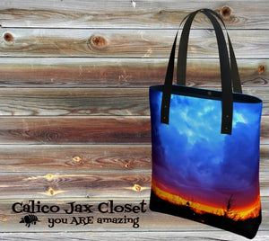 Beautiful Storm Tote Bag