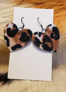 Cat eyes earrings