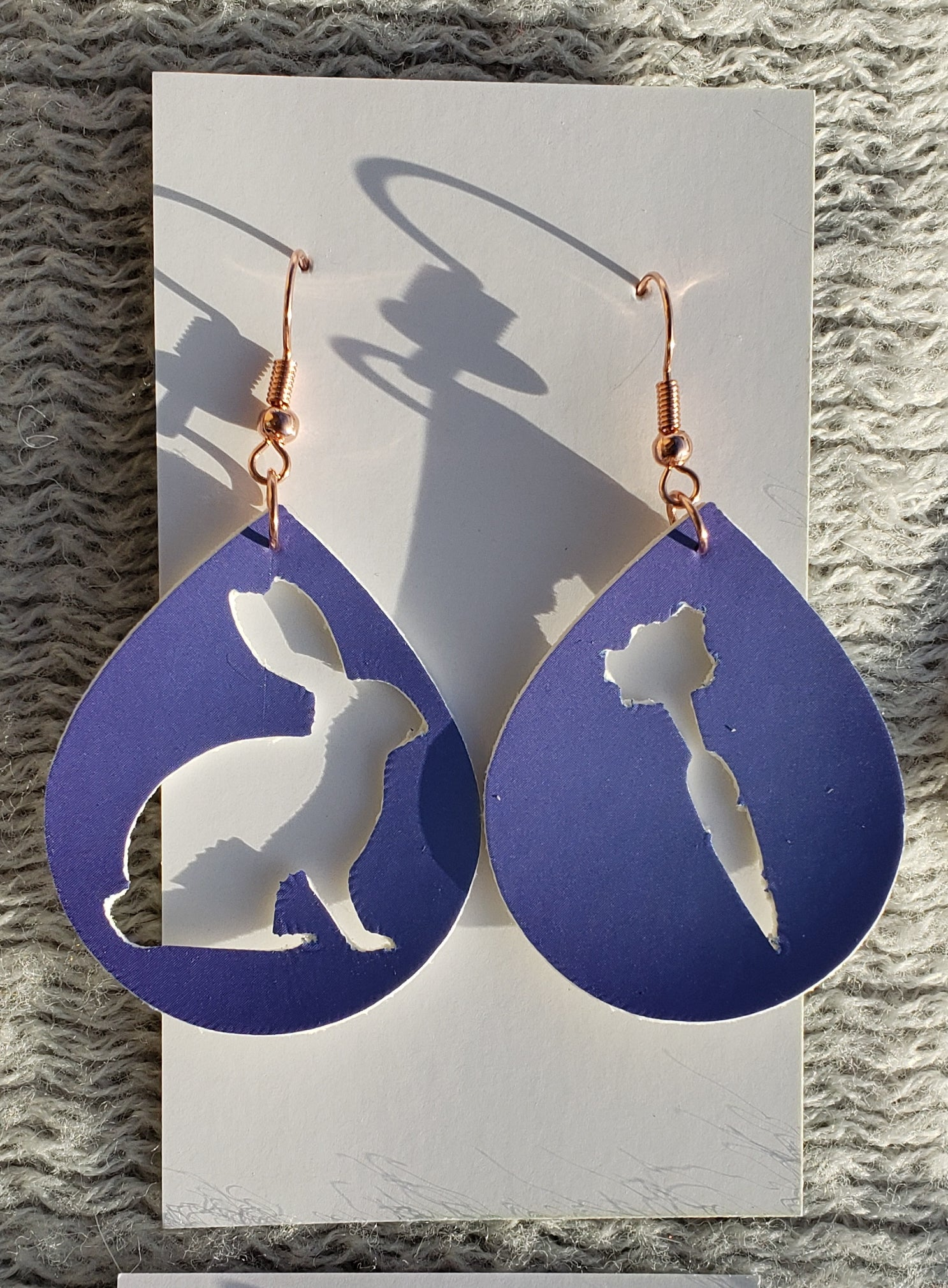 Little bunny earrings