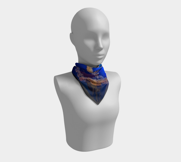 Dive in Deep Square Scarf