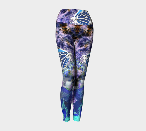 Climb High and Fly Higher Yoga Leggings