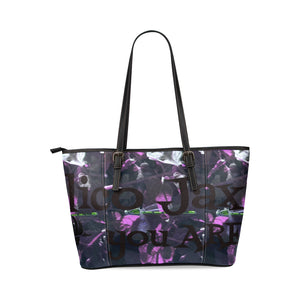 Amazing Dragon Leather Tote Bag