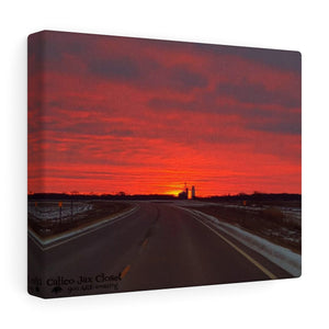 Sunset Drive Canvas Gallery Wraps