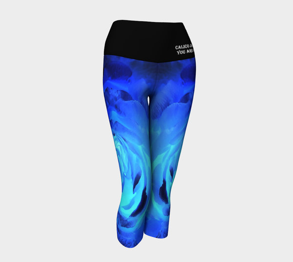 Royal Rose Yoga Capri