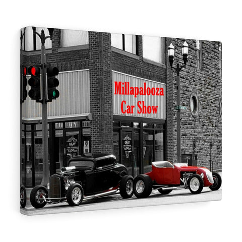 Millapalooza Car Show 2018 Canvas Gallery Wraps