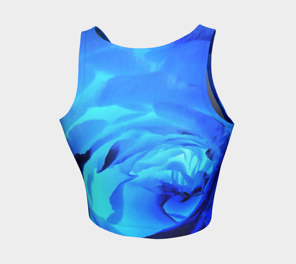 Royal Rose Crop Top