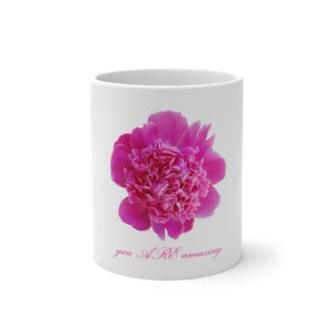 Pink bloom Color Changing Mug