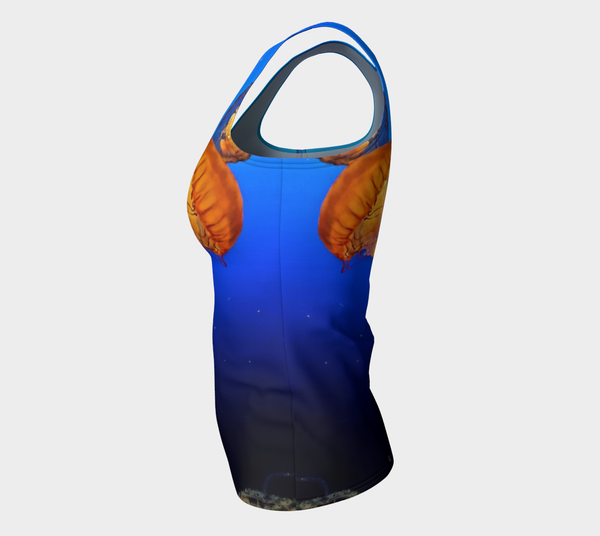 Dive in Deep Fitted Tank Top
