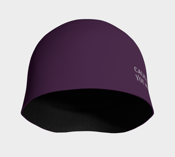 The Amazing Purple Beanie