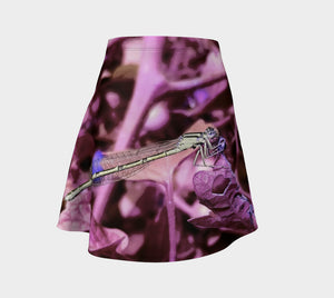 Purple Dragon Flare Skirt