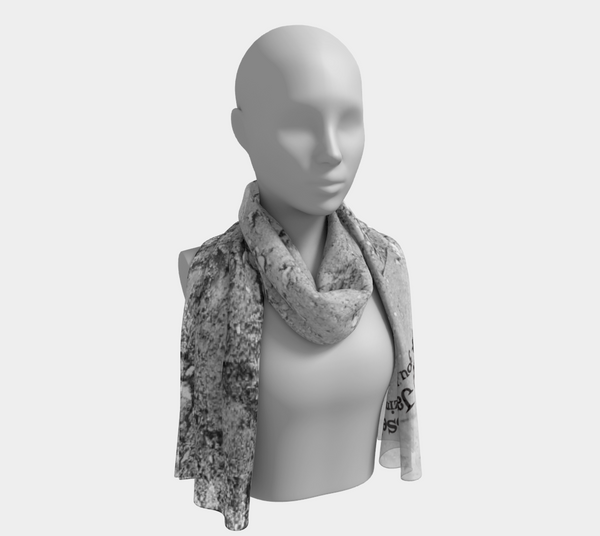 Follow your Heart long scarf