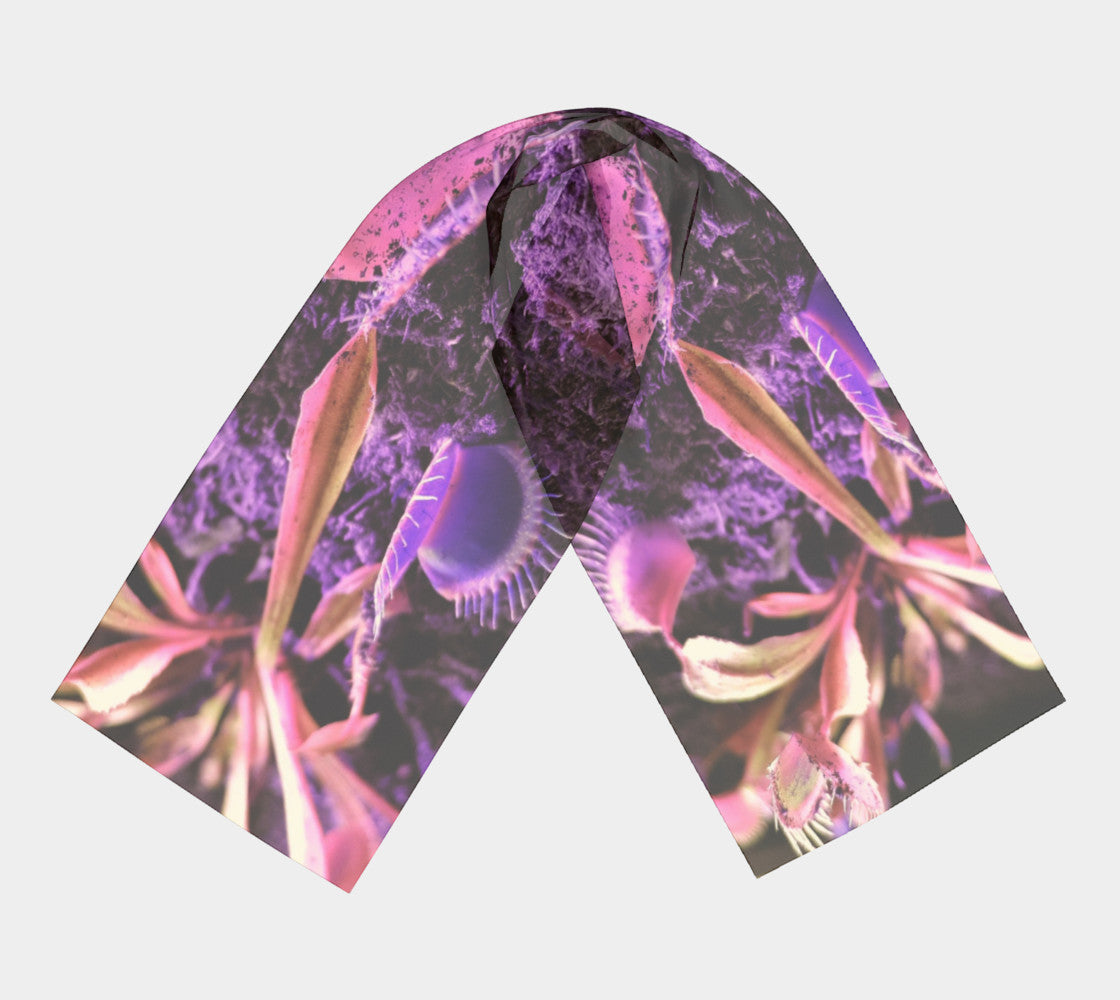 Purple Trap long Scarf