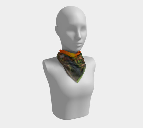 Caged Beauty Square Scarf