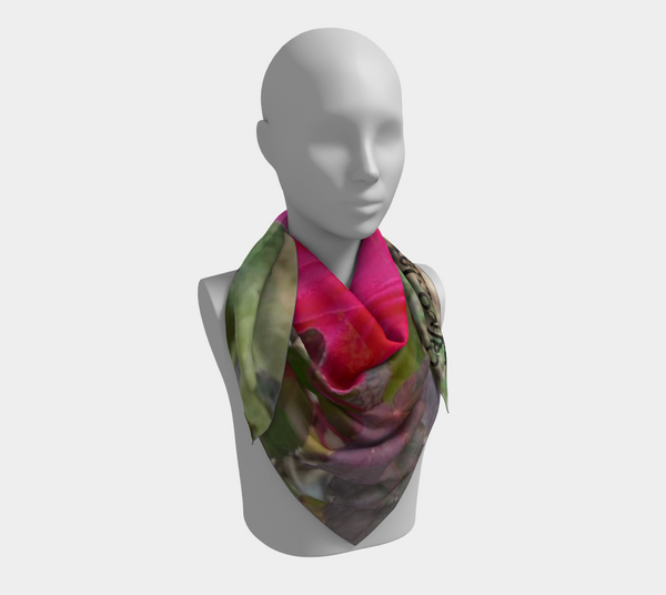 Pink Beauty Square Scarf