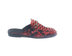 Slippers - Exotic Red Tomi (Unisex)
