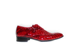MEN Shoes - Exotic Red Tony