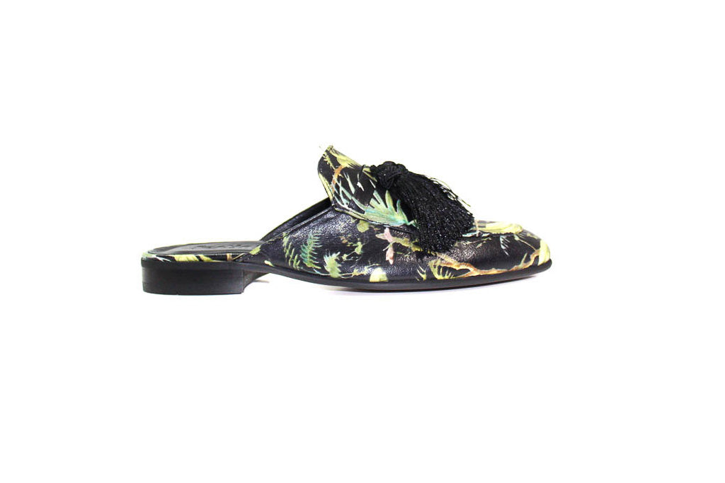 Slippers - Multicolor DG Black  (Unisex)