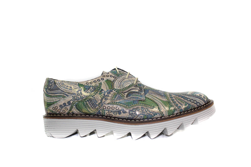 MEN Shoes - Green Funky