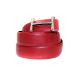 Belt - Leather Fashion Red