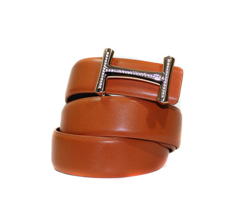 Belt - Leather Fashion Light Brown