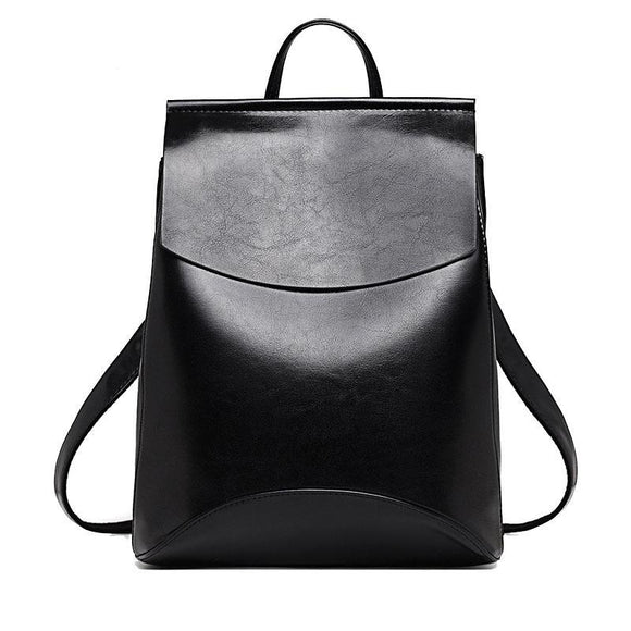 Women's Backpack High-Quality PU Leather Fashion Backpacks Shoulder Bags
