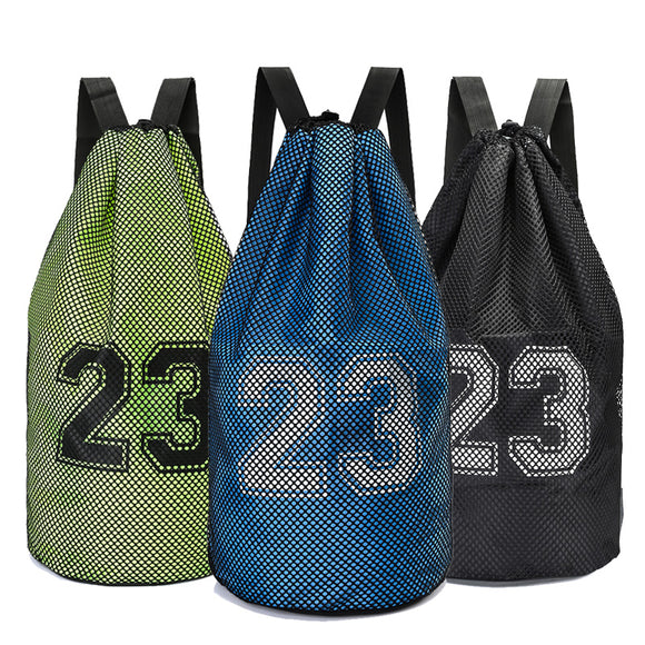 Large Basketball Bags With Soccer Drawstring Mash Pack Fitness Bag For Balls