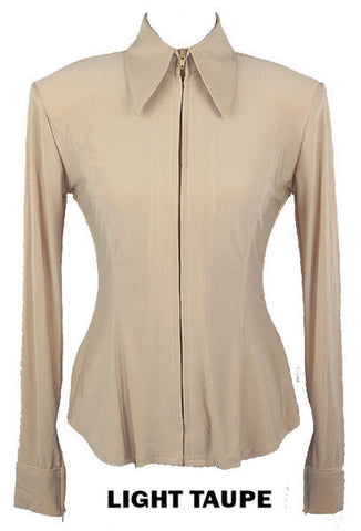Light Taupe Fitted ITY Shirt - Show Stoppin'