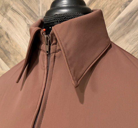 SS Brown Zip Up - Show Stoppin'