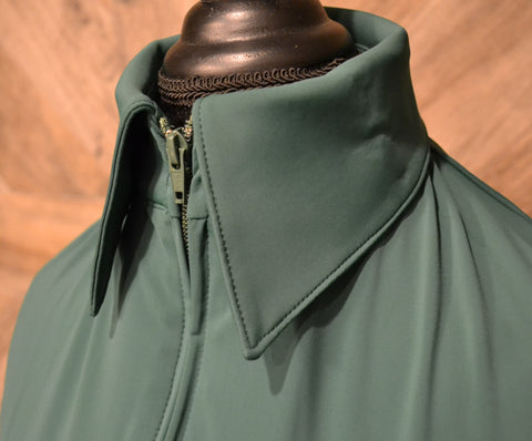 SS Forest Green Fitted Zip Up - Show Stoppin'
