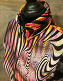 Large Multi Color Zebra - Show Stoppin'