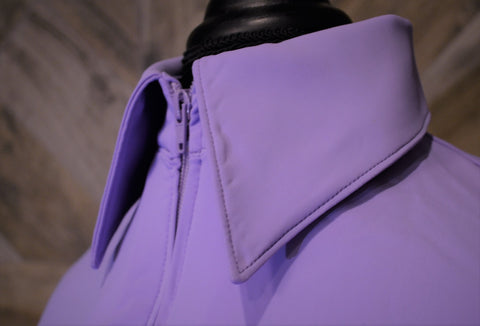 SS Lavender Fitted Zip Up - Show Stoppin'